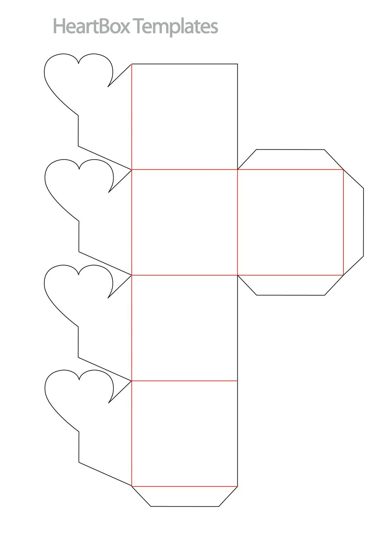 Схема коробочки из бумаги а4 своими руками