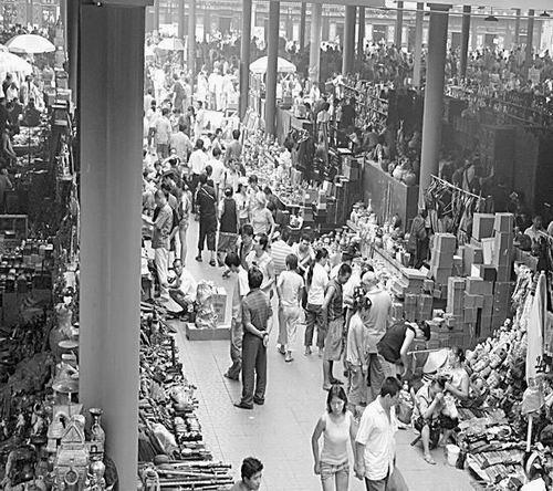 북경골동품시장의 역사