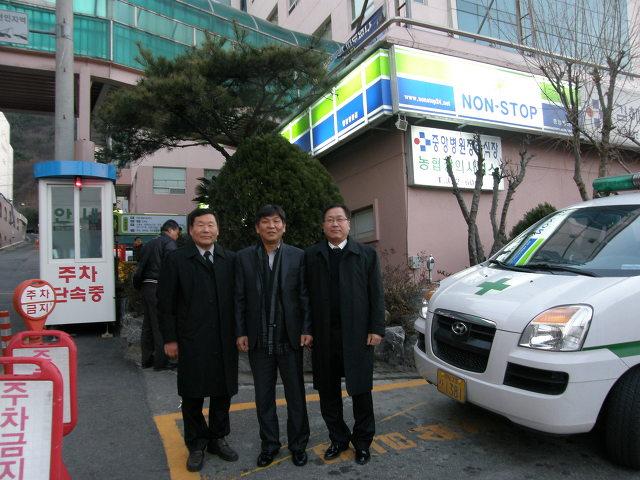 진영신문 창간호를 놓고 얘기나누다^^