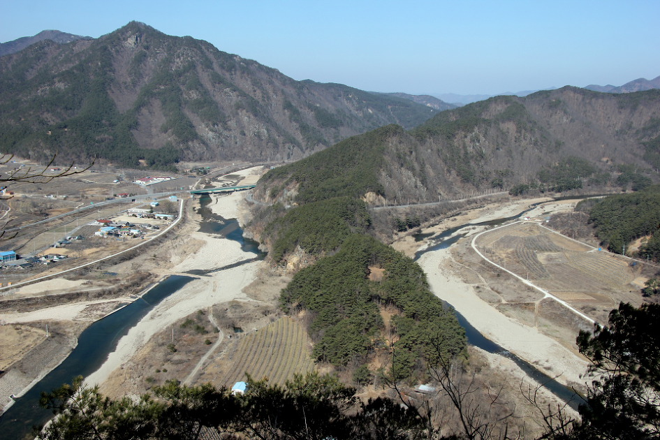 Trail to Andong Cheonjigapsan (2020.2.18)
