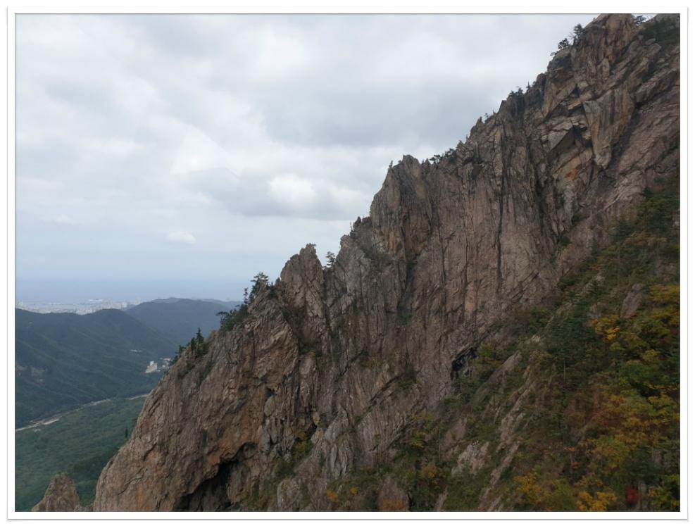 설악산 울산바위 단풍산행...