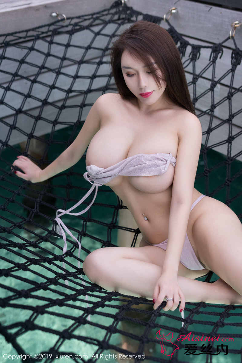 hot Chinese glamour in sexy pose